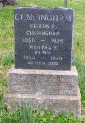 SCHOGGENS CUNNINGHAM, MARTHA E. - Baxter County, Arkansas | MARTHA E. SCHOGGENS CUNNINGHAM - Arkansas Gravestone Photos