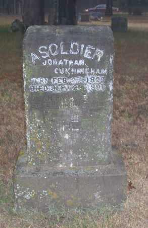 CUNNINGHAM (VETERAN UNION), JONATHAN - Baxter County, Arkansas   JONATHAN CUNNINGHAM (VETERAN UNION) - Arkansas Gravestone Photos