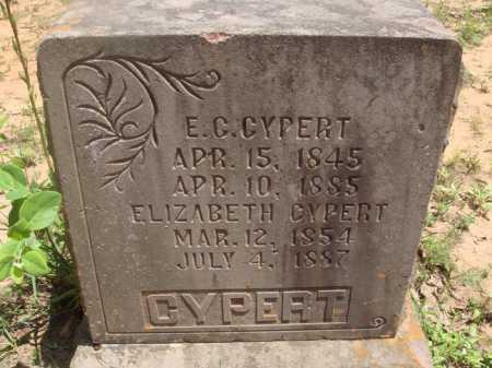 CYPERT, E. C. - Baxter County, Arkansas | E. C. CYPERT - Arkansas Gravestone Photos