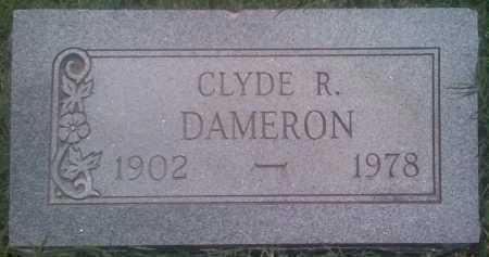 DAMERON, CLYDE R. - Baxter County, Arkansas | CLYDE R. DAMERON - Arkansas Gravestone Photos