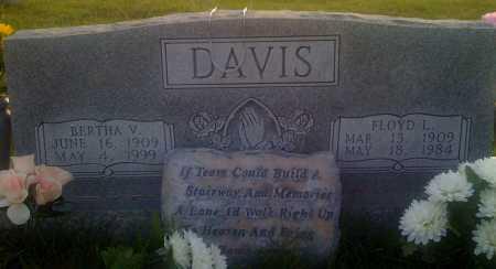 DAVIS, FLOYD L. - Baxter County, Arkansas | FLOYD L. DAVIS - Arkansas Gravestone Photos