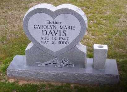 DAVIS, CAROLYN MARIE - Baxter County, Arkansas | CAROLYN MARIE DAVIS - Arkansas Gravestone Photos
