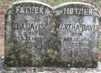 DAVIS, DAVID J. - Baxter County, Arkansas   DAVID J. DAVIS - Arkansas Gravestone Photos