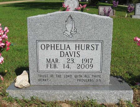 DAVIS, OPHELIA - Baxter County, Arkansas   OPHELIA DAVIS - Arkansas Gravestone Photos