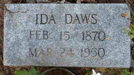 DAWS, IDA - Baxter County, Arkansas | IDA DAWS - Arkansas Gravestone Photos
