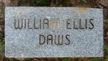 DAWS, WILLIAM ELLIS - Baxter County, Arkansas   WILLIAM ELLIS DAWS - Arkansas Gravestone Photos
