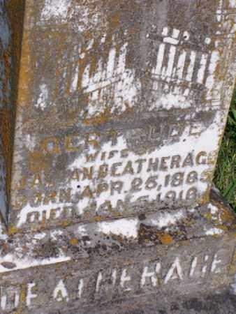DEATHERAGE, GERTRUDE - Baxter County, Arkansas | GERTRUDE DEATHERAGE - Arkansas Gravestone Photos