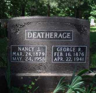 DEATHERAGE, GEORGE R. - Baxter County, Arkansas | GEORGE R. DEATHERAGE - Arkansas Gravestone Photos