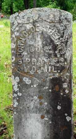 DEATHERAGE (VETERAN UNION), JOHN G - Baxter County, Arkansas | JOHN G DEATHERAGE (VETERAN UNION) - Arkansas Gravestone Photos