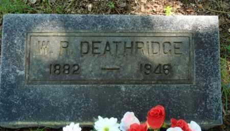DEATHERAGE, W. R. - Baxter County, Arkansas | W. R. DEATHERAGE - Arkansas Gravestone Photos