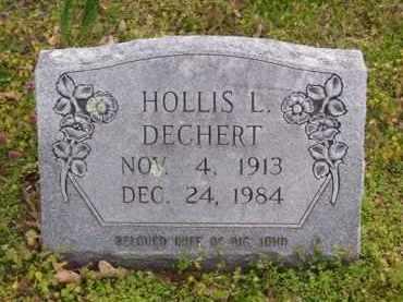 NUSSMAN DECHERT, HOLLIS L. - Baxter County, Arkansas | HOLLIS L. NUSSMAN DECHERT - Arkansas Gravestone Photos