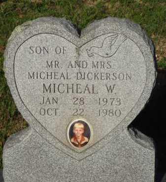 DICKERSON, MICHEAL W. - Baxter County, Arkansas | MICHEAL W. DICKERSON - Arkansas Gravestone Photos