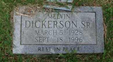 DICKERSON, SR., MELVIN - Baxter County, Arkansas | MELVIN DICKERSON, SR. - Arkansas Gravestone Photos