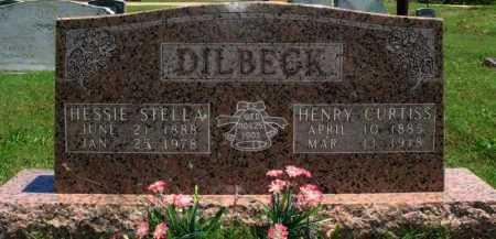 DILBECK, HENRY CURTISS - Baxter County, Arkansas   HENRY CURTISS DILBECK - Arkansas Gravestone Photos