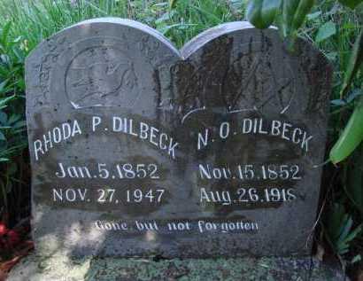 DILBECK, RHODA P. - Baxter County, Arkansas | RHODA P. DILBECK - Arkansas Gravestone Photos