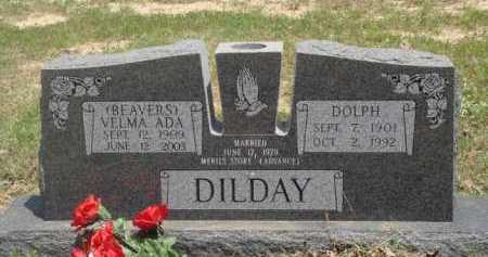DILDAY, VELMA ADA - Baxter County, Arkansas | VELMA ADA DILDAY - Arkansas Gravestone Photos