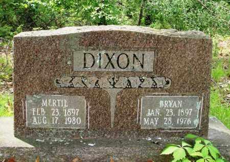 DIXON, BRYAN - Baxter County, Arkansas | BRYAN DIXON - Arkansas Gravestone Photos