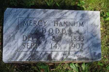 DODD, MERCY - Baxter County, Arkansas | MERCY DODD - Arkansas Gravestone Photos
