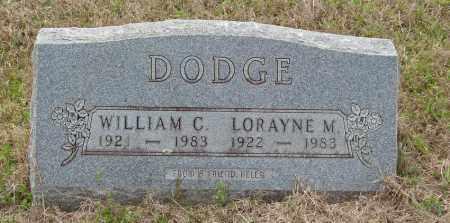 DODGE, LORAYNE M - Baxter County, Arkansas | LORAYNE M DODGE - Arkansas Gravestone Photos