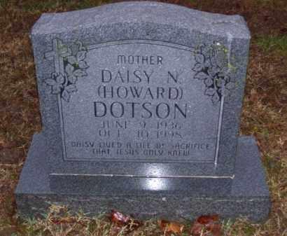 DOTSON, DAISY NADINE - Baxter County, Arkansas | DAISY NADINE DOTSON - Arkansas Gravestone Photos