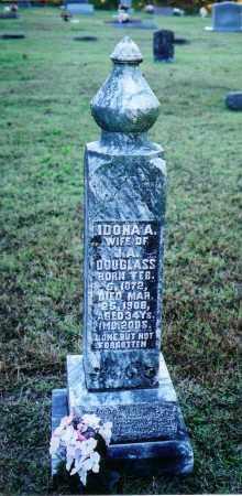 DOUGLAS, IDONA A. - Baxter County, Arkansas | IDONA A. DOUGLAS - Arkansas Gravestone Photos