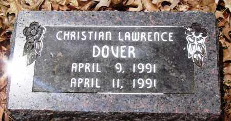DOVER, CHRISTIAN LAWRENCE - Baxter County, Arkansas   CHRISTIAN LAWRENCE DOVER - Arkansas Gravestone Photos