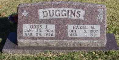 DUGGINS, ODUS J. (OBIT) - Baxter County, Arkansas | ODUS J. (OBIT) DUGGINS - Arkansas Gravestone Photos