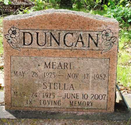 DUNCAN, STELLA - Baxter County, Arkansas | STELLA DUNCAN - Arkansas Gravestone Photos