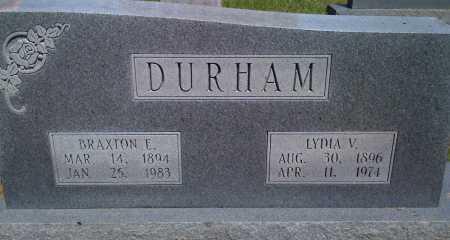 DURHAM, BRAXTON - Baxter County, Arkansas | BRAXTON DURHAM - Arkansas Gravestone Photos