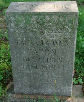 ADAMS EATON, LAURA - Baxter County, Arkansas | LAURA ADAMS EATON - Arkansas Gravestone Photos