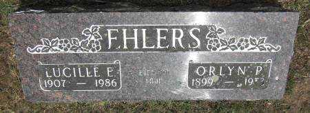 EHLERS, LUCILLE E. - Baxter County, Arkansas | LUCILLE E. EHLERS - Arkansas Gravestone Photos