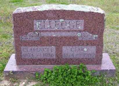 ELLEDGE, CLARENCE E. - Baxter County, Arkansas   CLARENCE E. ELLEDGE - Arkansas Gravestone Photos