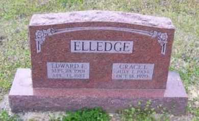 CHAPMAN ELLEDGE, GRACE LENA - Baxter County, Arkansas | GRACE LENA CHAPMAN ELLEDGE - Arkansas Gravestone Photos