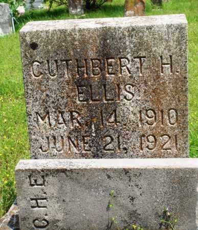 ELLIS, CUTHBERT H - Baxter County, Arkansas   CUTHBERT H ELLIS - Arkansas Gravestone Photos