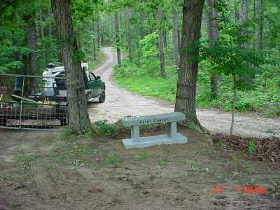 *, CURTIS CEMETERY ENTRANCE - Baxter County, Arkansas | CURTIS CEMETERY ENTRANCE * - Arkansas Gravestone Photos