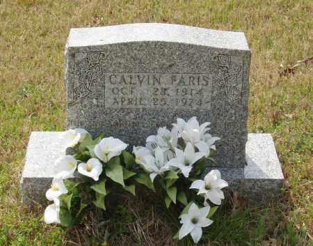 FARIS, CALVIN - Baxter County, Arkansas   CALVIN FARIS - Arkansas Gravestone Photos