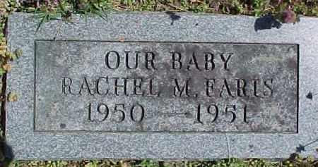 FARIS, RACHEL M. - Baxter County, Arkansas | RACHEL M. FARIS - Arkansas Gravestone Photos