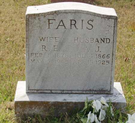 FARIS, R E - Baxter County, Arkansas | R E FARIS - Arkansas Gravestone Photos