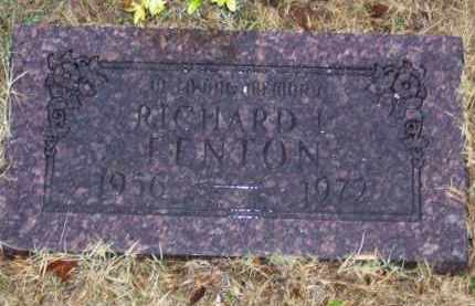 FENTON, RICHARD L. - Baxter County, Arkansas | RICHARD L. FENTON - Arkansas Gravestone Photos
