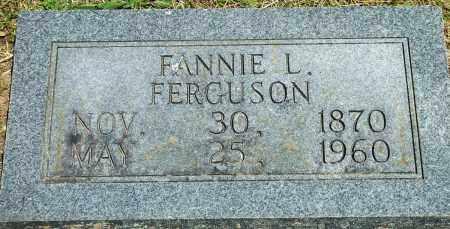 FERGUSON, FANNIE L - Baxter County, Arkansas | FANNIE L FERGUSON - Arkansas Gravestone Photos