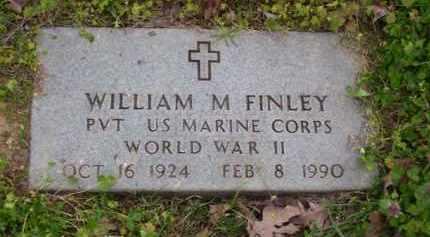 FINLEY, JR (VETERAN WWII), WILLIAM MELVIN - Baxter County, Arkansas   WILLIAM MELVIN FINLEY, JR (VETERAN WWII) - Arkansas Gravestone Photos