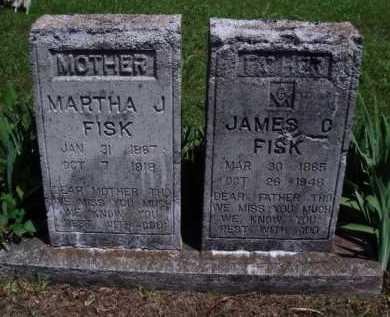FISK, JAMES D. - Baxter County, Arkansas   JAMES D. FISK - Arkansas Gravestone Photos