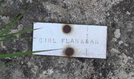 FLANAGAN, GIRL - Baxter County, Arkansas | GIRL FLANAGAN - Arkansas Gravestone Photos