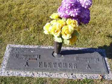 JONES FLETCHER, DANIE - Baxter County, Arkansas | DANIE JONES FLETCHER - Arkansas Gravestone Photos