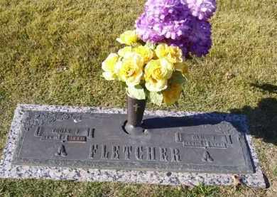 FLETCHER, EDGAR JAMES - Baxter County, Arkansas   EDGAR JAMES FLETCHER - Arkansas Gravestone Photos