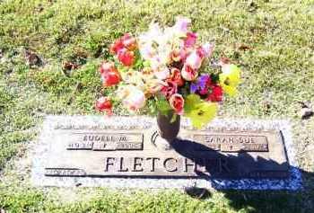 FLETCHER, EUDELL MARLIN, SR. - Baxter County, Arkansas | EUDELL MARLIN, SR. FLETCHER - Arkansas Gravestone Photos