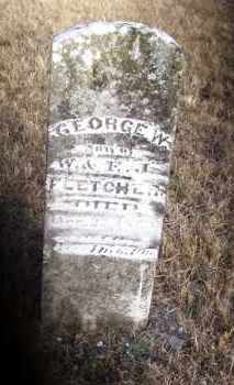 FLETCHER, GEORGE W. - Baxter County, Arkansas   GEORGE W. FLETCHER - Arkansas Gravestone Photos