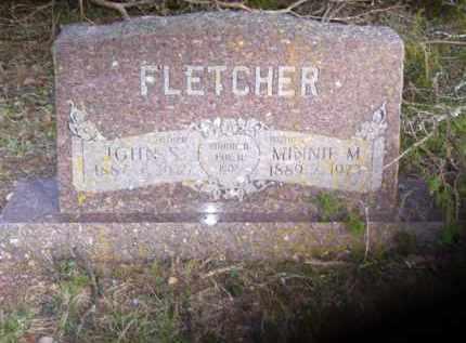 FLETCHER, JOHN STRAWSON - Baxter County, Arkansas | JOHN STRAWSON FLETCHER - Arkansas Gravestone Photos