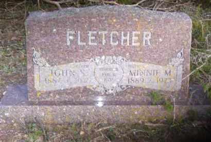 FLETCHER, MINNIE MAUDE - Baxter County, Arkansas | MINNIE MAUDE FLETCHER - Arkansas Gravestone Photos