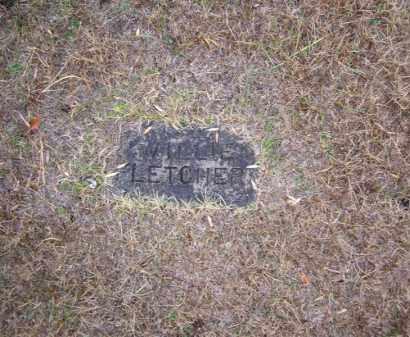 FLETCHER, WILLIE - Baxter County, Arkansas   WILLIE FLETCHER - Arkansas Gravestone Photos